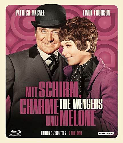Mit Schirm, Charme und Melone - Edition 3 [Blu-ray]