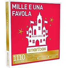 Idea Regalo - SMARTBOX - Cofanetto Regalo - MILLE E UNA FAVOLA - 1110 soggiorni di gusto o benessere in hotel 3*, 4*, 5*, relais o ville di charme