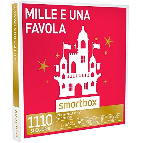 Smartbox - cofanetto regalo - mille e una favola - 1110 soggiorni di gusto o benessere in hotel 3*, 4*, 5*, relais o ville di charme