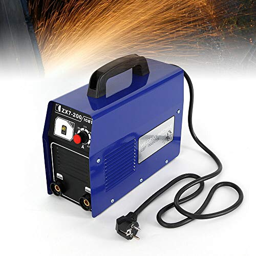 YIYIBY Elektro Schweißgerät Profi Elektroden Schweißmaschine DC Inverter 120 A ZX7-200 MMA ARC Elektrodenschweißgerät