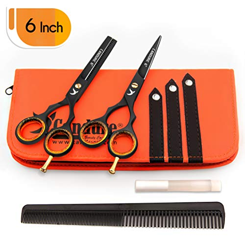 "Friseurscheren - Haarscheren - Effilierschere Set 5.5"" (13.97) (6"")"
