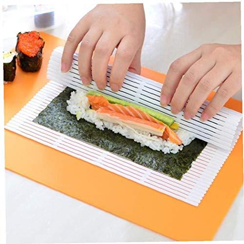 Presupuesto: Tipo: Sushi Roller Función: Regalo para la cocina casera Tamaño: Aprox. 24 * 21,6cm  El paquete incluye: 1 X Sushi Roller  Nota: 1,1 pulgada = 2,54 cm / 1 cm = 10 mm = 0.39inch. 2.please permitir que algunos errores debido a la medida ma...