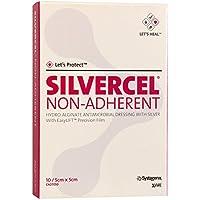 SILVERCEL Non Adherent Kompressen 5x5 cm 10 St Kompressen preisvergleich bei billige-tabletten.eu