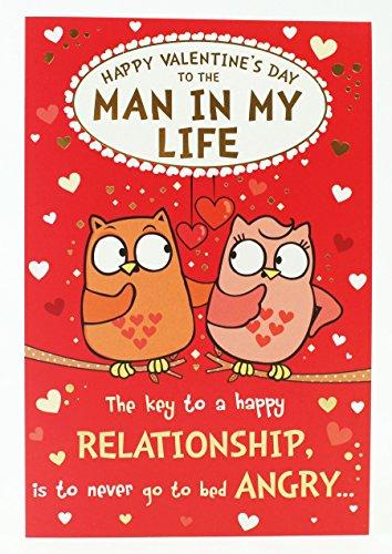 To Man in My Life Owl Pair Valentines Card Funny + (Sexy Valentinstag Ideen Für Ihn)