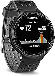 Garmin - Forerunner 235 - Montre de Running GPS avec Cardio au Poignet (Ecran : 1,23 Pouces) - Noir (Reconditi