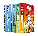 Kimba Komplett Set Bundle (Kimba der weiße Löwe 1&2, Boubou König der Tiere, Leo der kleine Löwenkönig, Jungle Emporer Leo)