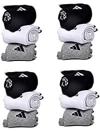 JILOWA Men's Cotton Socks Pack of 12 Pair