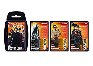 Dr Who 9 Top Trumps Card Game