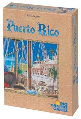 Rio Grande Games 195 - Juego de mesa Puerto Rico sobre administración de posesiones (edición inglesa) por Rio Grande Games
