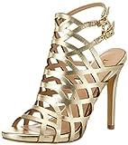 LIU JO SANDALO GABBIA AKIKO S17001 P0045 sandalo donna con tacco, Oro, EUR 38