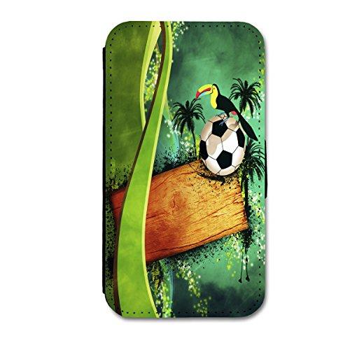 Book Style Flip Handy Tasche Case Schutz Hülle Schale Motiv Etui für Apple iPhone 6 - 4,7 Zoll - Flip 1A49 Design1 Design 4