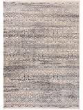 Benuta Teppich Vintage Safira Beige/Grau 200x285 cm - Vintage Teppich im Used-Look
