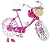 Barbie – Bicyclette Rose – Accessoires pour Poupée Mannequin