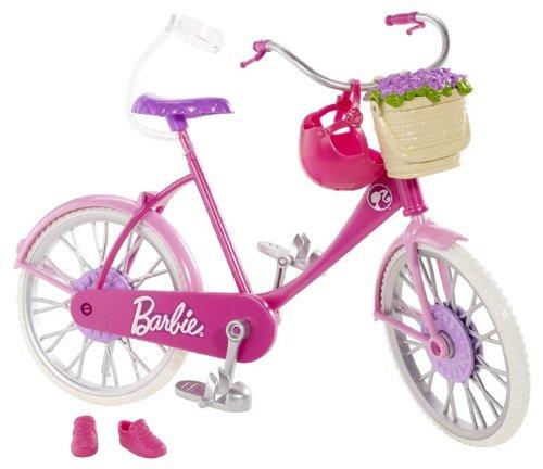 Barbie – Bicyclette Rose – Accessoires pour Poupée Mannequin 0885565961498
