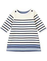 Petit Bateau Baby - Mädchen Kleid ROBE ML, Gestreift