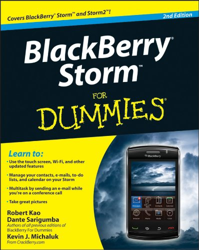 BlackBerry Storm For Dummies (English Edition)