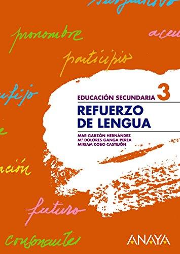 Refuerzo de Lengua 3 - 9788466759380 por Mª del Mar Garzón Hernández