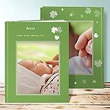 Fotobuch Baby zum selbstgestalten, Honigkuchenpferdchen 28 Seiten, Hardcover 234x296 mm personalisierbar, Grün