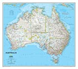 Australia Classic, Tubed: NG.PC620002 (National Geographic Reference Map)