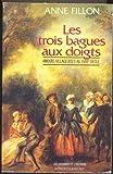 Telecharger Livres Les Trois bagues aux doigts Amours villageoises au XVIIIe siecle (PDF,EPUB,MOBI) gratuits en Francaise