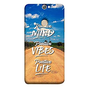 YuBingo Designer Phone Back Case Cover Coolpad Max A8 ( Positive Mind )
