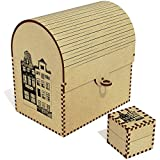 'Edifici di Amsterdam' Grande Cassa del tesoro / Scatola dei gioielli (TC00007713)