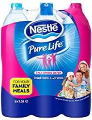 NESTLE PURE LIFE Still Spring Water, 6 x 1.5 Litre