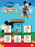 Noris 606315838 Disney Micky Maus Clubhouse, 5er Stempel Set