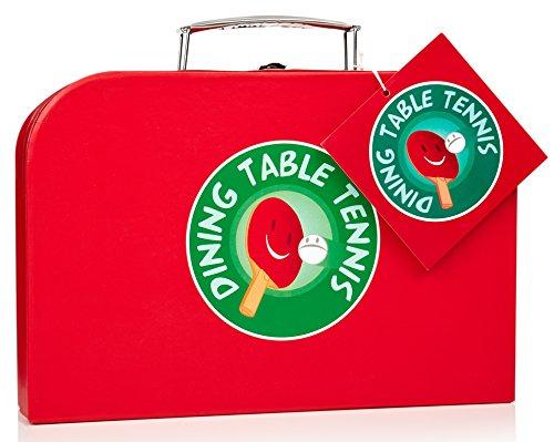 npw Esstisch Tischtennis/Tischtennis-Set, Rot/Schwarz