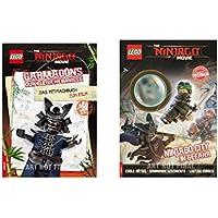 garmadons scuro segreti il mitmachbuch per film e Ninjago City in pericolo Comic Con Mini Figura im Kombi OFFERTA