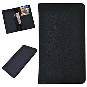 DSR Pu Leather case cover for Spice Stellar Glamour (MI-436) (black)