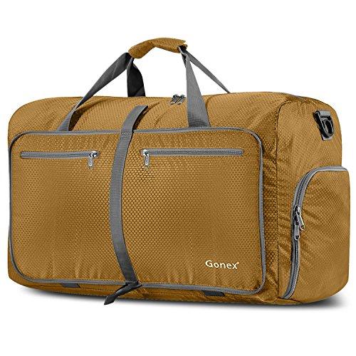 Gonex Leichter Faltbare Reise-Gepäck 40/60/ 80/100/ 150L Duffel Taschen Übernachtung Taschen/Sporttasche für Reisen Sport Gym Urlaub