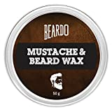 Best Moustache Waxes - Beardo Beard and Moustache Wax - 50 g Review