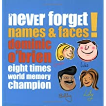 Names and Faces (Never Forget S.) by Dominic O'Brien (2002-08-02)