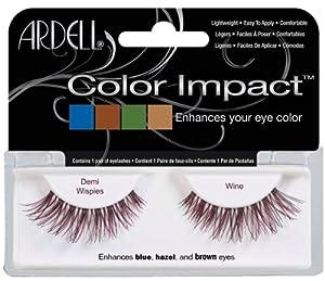 Ardell Color Impact Lash Demi Wispies False Eyelashes Wine (1 x 100 g)