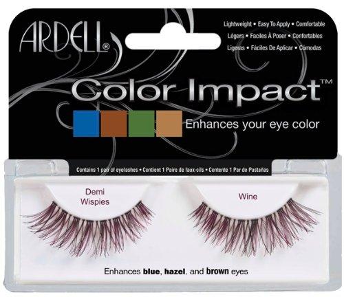 ARDELL - das Original - Color Impact Lash Demi Wispies wine, 1 Paar -