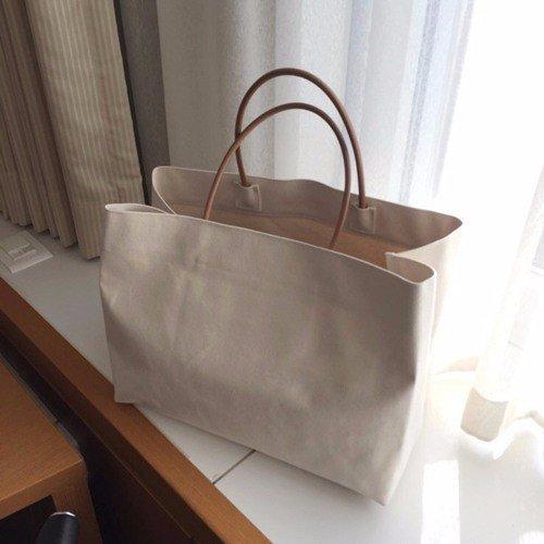 GUMO-Sacche da spiaggia, grande capacità, borsette, singole borse a tracolla, borse di tela,bianco White