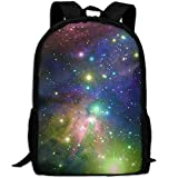 best& Stylish Dark Blue Space Stars Galaxy Swirls Laptop Backpack School Backpack Bookbags College Bags Daypack
