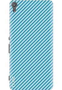 Noise Designer Printed Case / Cover for Sony Xperia XA Ultra Dual / Aztec / Diagonal Blue Design