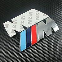 Careflection M Car Badge for BMW Emblem Logo M Power Sport Boot Car Panel Sticker
