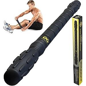 Physix Gear Sport Muskel Massageroller Pro Tool Fr Schmerzende Angespannte Muskeln Krmpfe Knoten Massage Roller Muskel Rolle Massagerolle Gratis Ebook