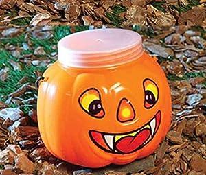 Guirca- Cesta calabaza con tapa, Color naranja, talla única (19618)