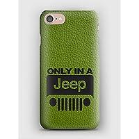Funda para el iPhone X, 8, 8+, 7, 7+, 6S, 6, 6S+, 6+, 5C, 5, 5S, 5SE, 4S, 4, Only in a Jeep