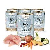 AniForte PureNature Zartes Huhn Junior 400g Hundefutter- Naturprodukt für Hunde und Welpen (6x400g)