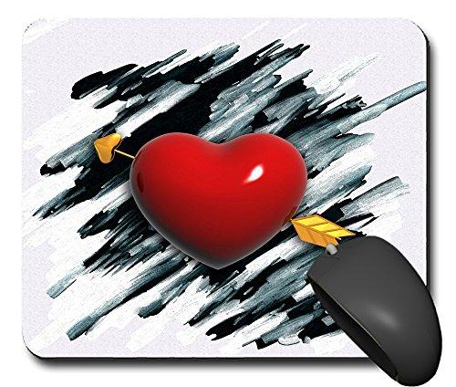 Preisvergleich Produktbild Mausp0048 Mauspad Amor herz 3 Mausunterlage Mausmatte Mousepad Pc Computer NEU