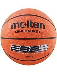Molten EBB5 - Balón de baloncesto, color naranja, tamaño 5
