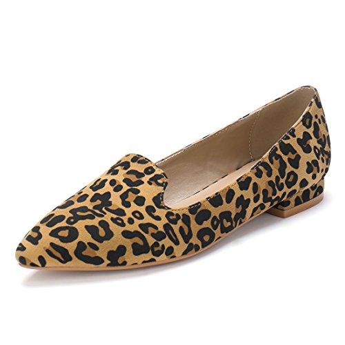 Allegra K Zapatos Mocasines Plantilla Acolchada Punta
