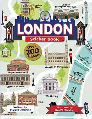 London Sticker Book (The Scribblers Fun Activity)