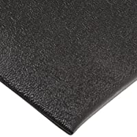 """NoTrax C01S2030BL Kitchen Comfort Mat, 20"""" Width x 30"""" Length x 3/8"""" Thickness, Black by NoTrax"""