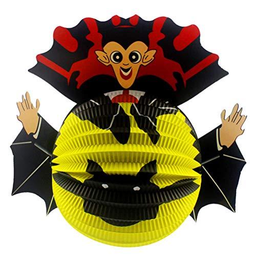 pier Fledermaus Ausschnitte Halloween Hängen Tür Dekorationen Scary Hängen Spinne Laterne Dekoration für Halloween Party Supplies ()